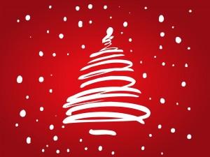 Tarjeta para felicitar la Navidad