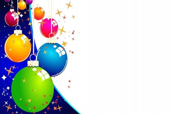 Bolas de Navidad de varios colores