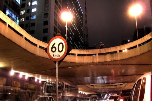 Señal de tráfico 60 Km/h