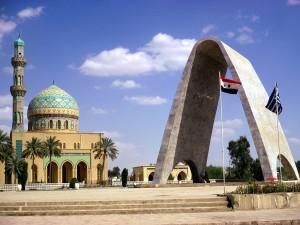 Plaza Firdos, en Bagdad (Irak)