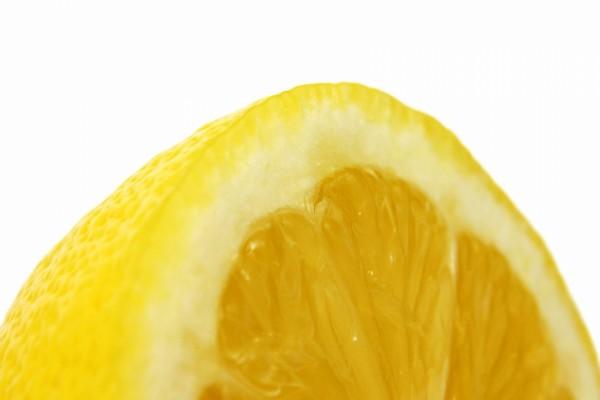 Las partes de un limón