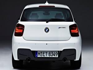 Parte trasera de un BMW