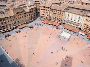 Postal: Piazza del Campo, Siena (Italia)