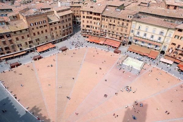 Piazza del Campo, Siena (Italia)