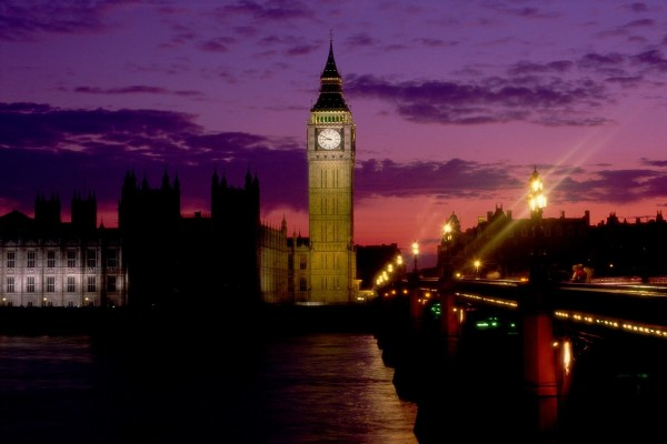 Londres por la noche