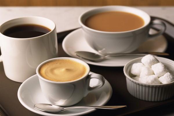 Varios tipos de café