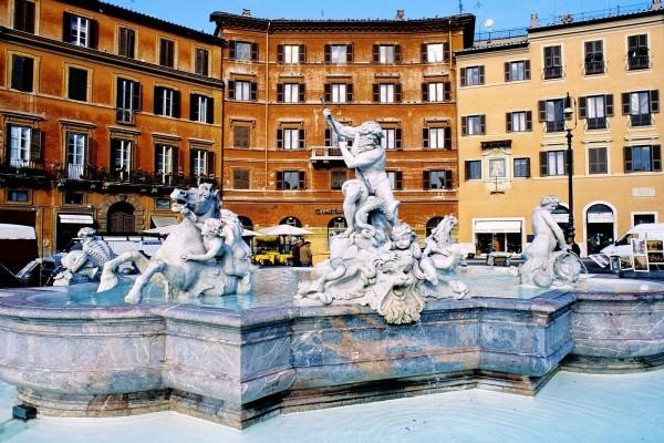 Fuente de Neptuno, Roma