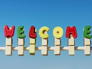 Postal: Bienvenido