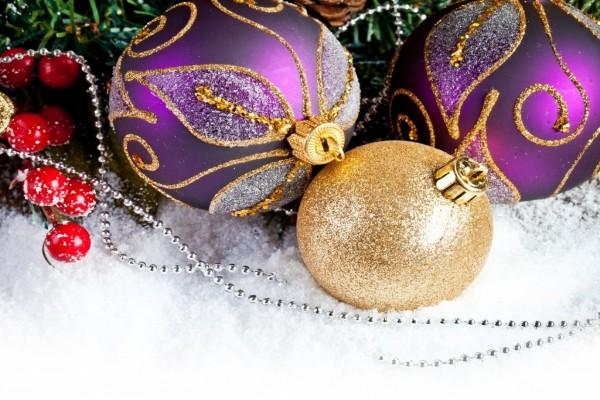 Bolas para el arbolito de Navidad
