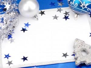 Postal para Año Nuevo