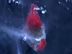 Erupción del volcán Soufriere Hills