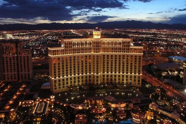 El hotel y casino Bellagio en Las Vegas