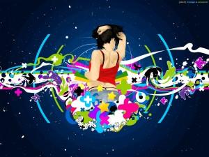 Disfrutando de la música