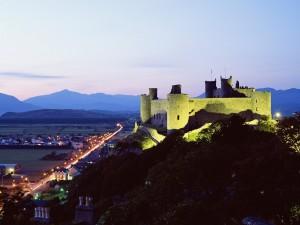 Postal: Castillo de Harlech, Gwynedd, Gales, Reino Unido