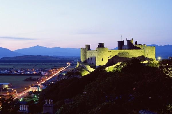 Castillo de Harlech, Gwynedd, Gales, Reino Unido