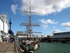 Postal: Puerto de Auckland