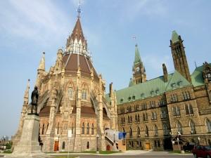 Postal: Edificios del Parlamento de Canadá