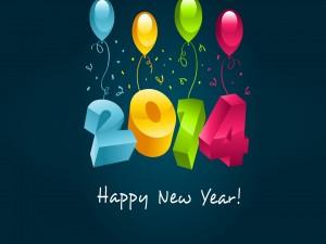 Postal: Bienvenida al 2014