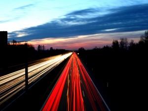 Postal: Luces de ida y vuelta