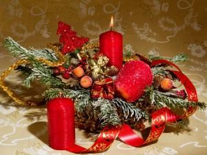 Centro de mesa para los días de festividad