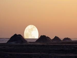 La Luna se va a dormir