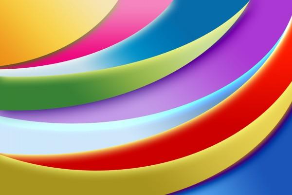 Trazos abstractos de colores
