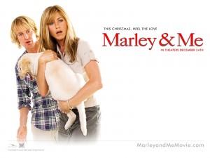 """Cartel de """"Marley y yo"""""""