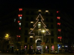 Hotel Axel, Navidad 2011 (Barcelona, España)