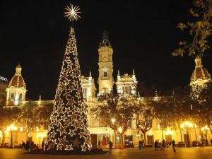 Foto navideña del Ayuntamiento de Valencia