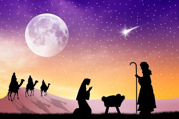 Llegando los Reyes Magos
