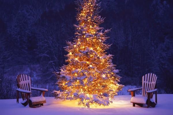 Escenario navideño