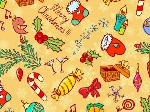 Textura navideña