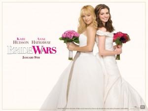 Guerra de novias, cartel promocional