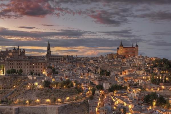 La noche en Toledo