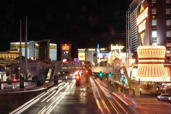 Carretera en Las Vegas