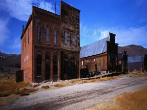 Postal: Casas abandonadas