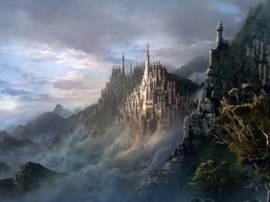 Gran castillo de fantasía