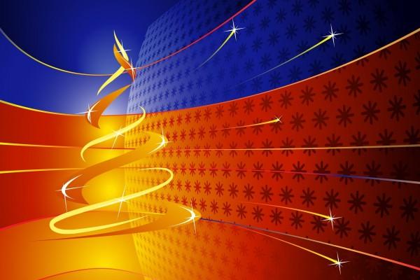 Diseño moderno del árbol de Navidad