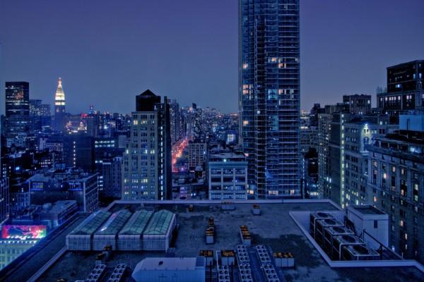 Azotea de un rascacielos