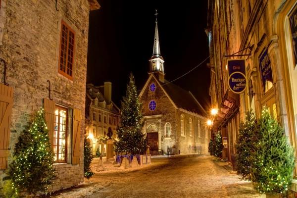 Noche de Navidad (Quebec, Canadá)