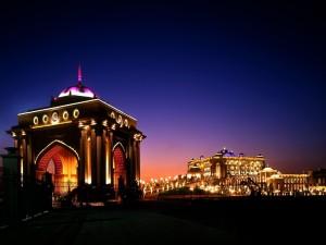 Noche en el Hotel Emirates Palace, Abu Dabi