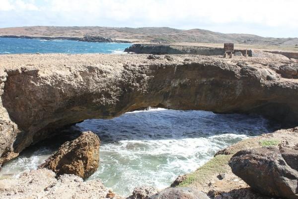 Puente natural en Aruba