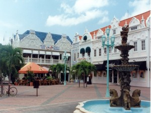 Postal: Oranjestad, la capital de Aruba