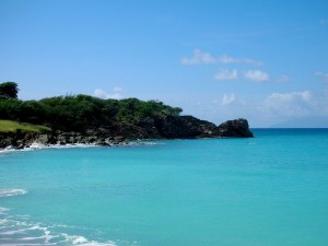Postal: Turner Beach, Antigua, Antillas