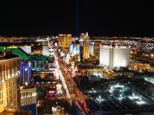 Postal: Las Vegas Strip de noche