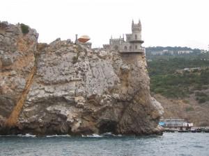 Castillo en el acantilado