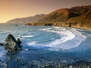 Postal: Playa natural