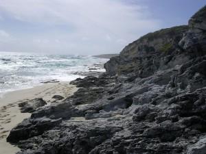 Postal: Costa atlántica de Long Island, Las Bahamas