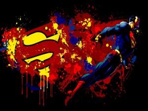 Postal: Superman, el héroe
