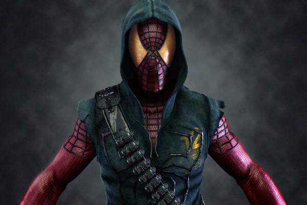 Spiderman, armado y peligroso